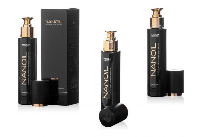 Nanoil Haaröl – an Bedürfnisse der Haare angepasst