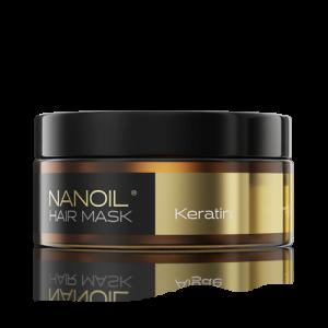 Nanoil Haarmaske mit Keratin regenerierende Haarmaske mit Keratin, 300 ml